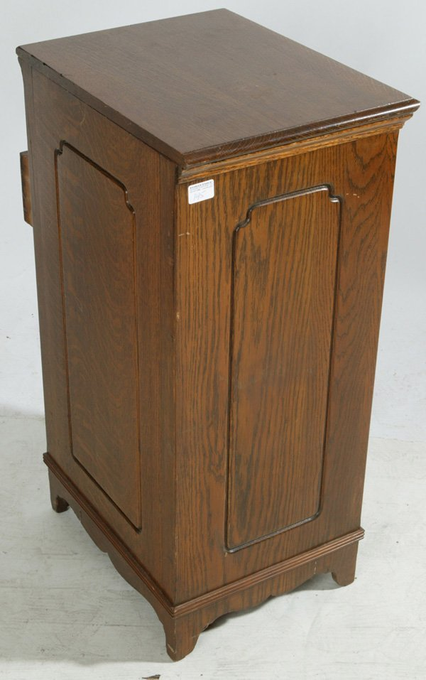 oak storage cabinet 1145 oak 5 drawer edison cylinder cabinet lot 1145 1145