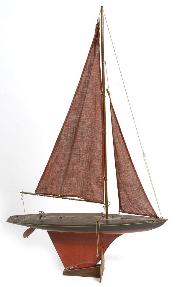 409 Keystone Wooden Toy Pond Boat Lot 409