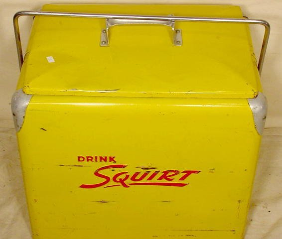641 Squirt Picnic Cooler Progress Refrigerator Co Lot 641