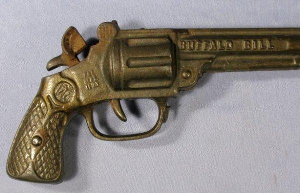 CAST IRON * Buffalo Bill * Cap Gun - $45.00 | PicClick