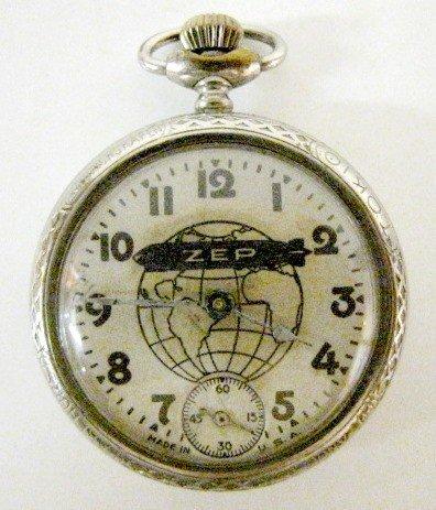 Westclox ZEP Dollar Pocket Watch Trail Blazers Graf ...