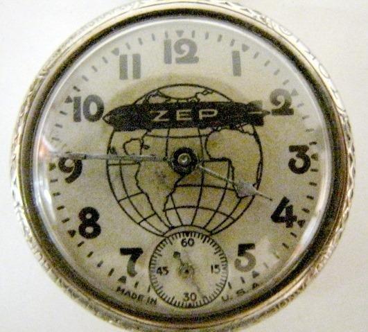 Graf Zeppelin Pocket Watch Vintage 1929