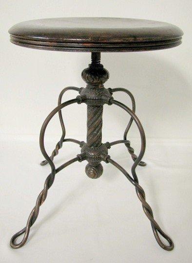 Antique Iron Stool Bing Images