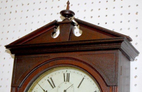 316 mahogany seth thomas umbria wall clock lot 316