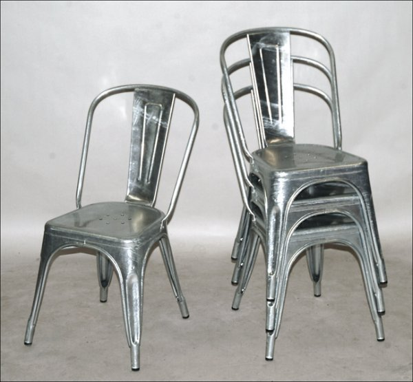 galvanized steel chair | Best Modern Furniture Design Directory Blog