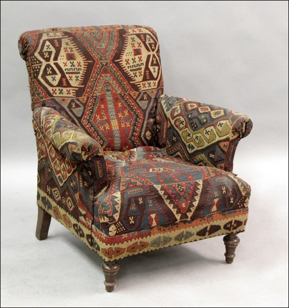 Kilim upholstered armchair lot 811029 for Children s armchairs 10 of the best