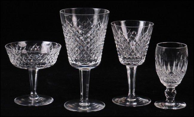 Ten waterford crystal short stem white wine glasses lot 1222111 - Short stemmed wine glass ...