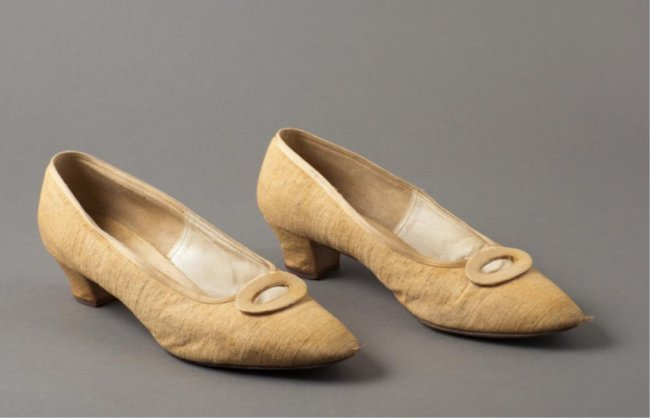 Jackie Kennedy 39 S Delamn Shoes Lot 430