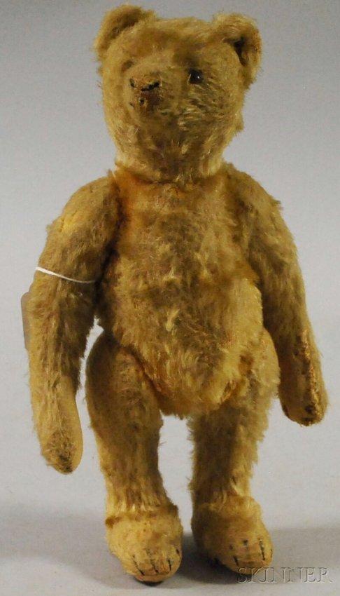 7a Small Steiff Mohair Bear Germany C 1915 Golden