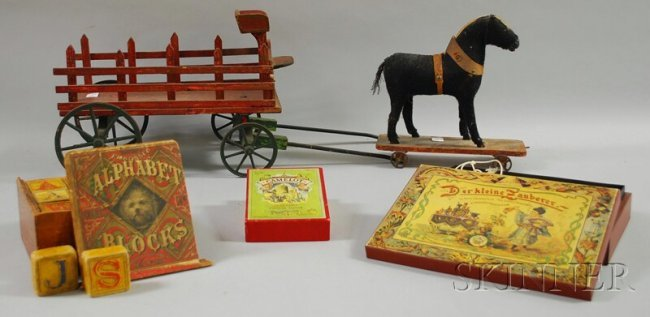 20th Century Toys : Four th and early century children s toys