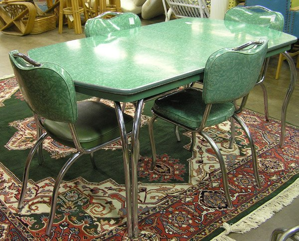 1000 ideas about formica table on pinterest retro for Retro dinette sets