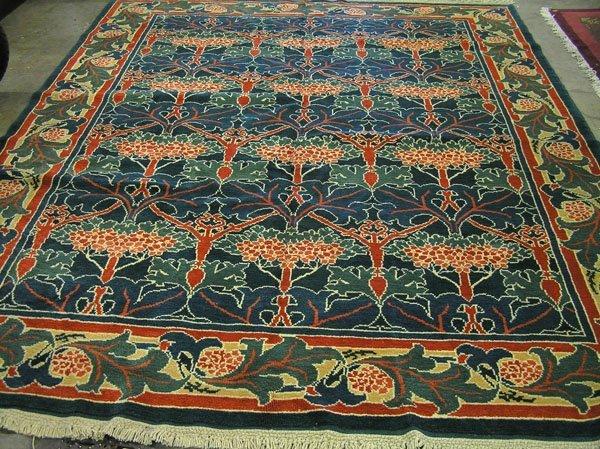 4596 turkish 39 arts and crafts rug carpet lot 4596. Black Bedroom Furniture Sets. Home Design Ideas