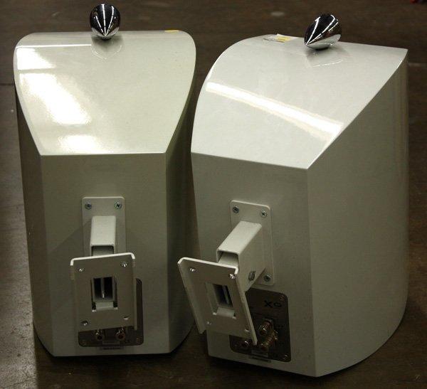 4221: Pair of KEF XQ one speakers, : Lot 4221