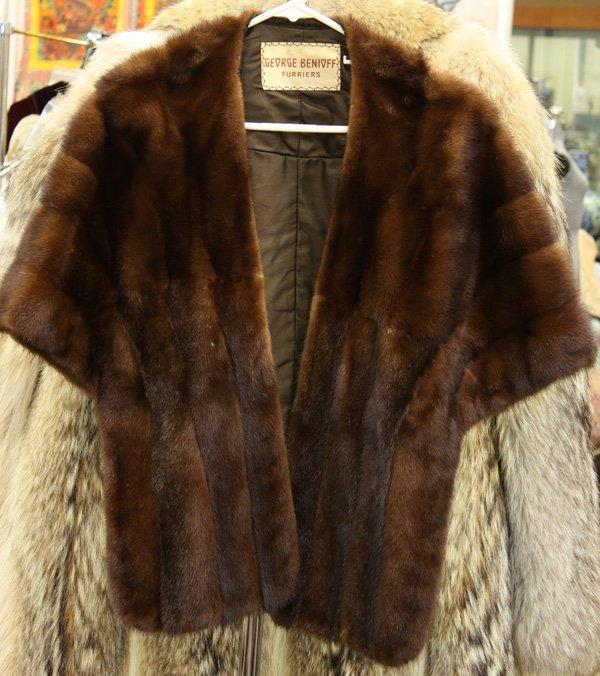4666 vintage fur stole lot 4666 - Stoel fur ...