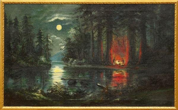 campfire paintingCampfire Painting