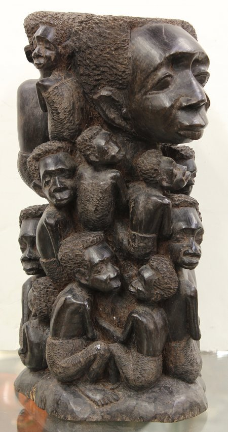 Makonde Tanzania Carved Mpingo Blackwood Quot Tree