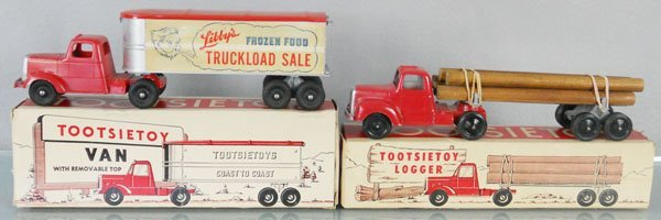2 TOOTSIETOY MACK TRUCKS : Lot 232