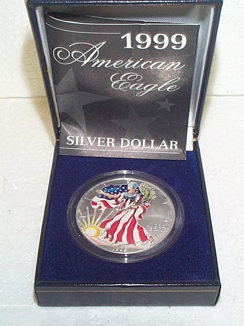 1 Ounce Silver Coin Case Birthday Boy Personalized Gift