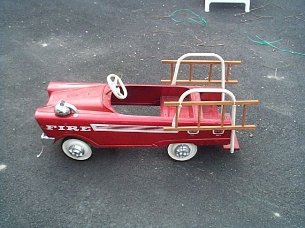 S Ford Murray Fire Chief Pedal Car With Bell