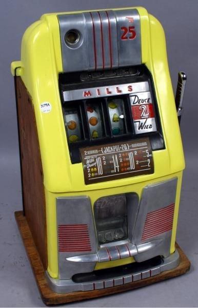 mills 777 slot machine quarter not working