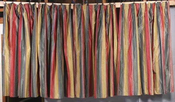 4060 four 4 multi colored drapes lot 4060