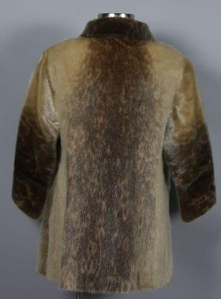 Vintage 1930s Genuine Black Seal Skin Fur Coat