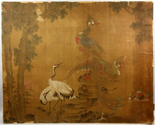 Chinese Ming/Qing Dynasty Painting : Lot 5231