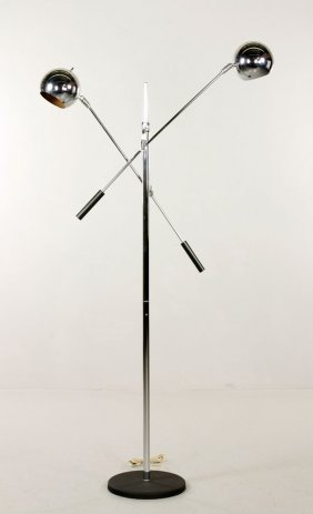 Wall Mounted Cantilever Lamp : 2264: AN ANGLEPOISE CANTILEVER DESK/WALL MOUNTED LAMP, : Lot 2264