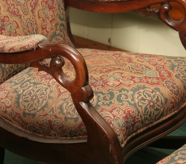 What is the value of a gooseneck antique rocking chair
