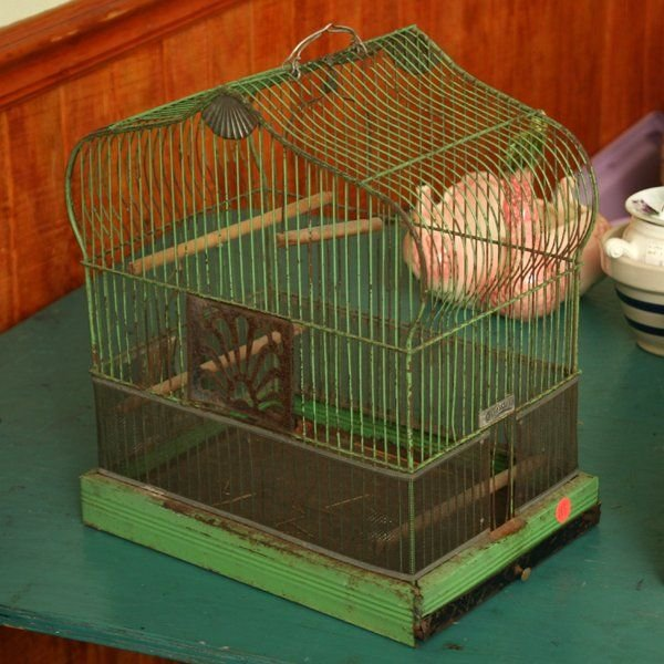 Hendryx Art Deco Bird Cage