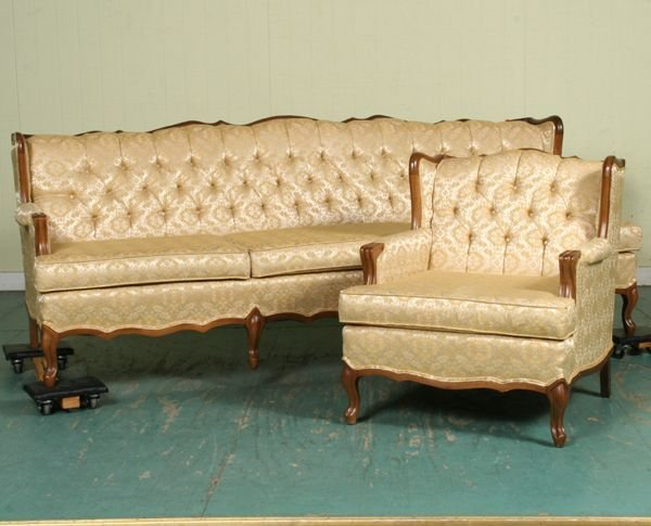 1235 1235 Mid 1900 39 S French Provincial Sofa And Chair Lot 1235