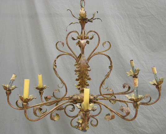 Nulco Lighting French Country Chandelier - 3012-87-F - Provincial
