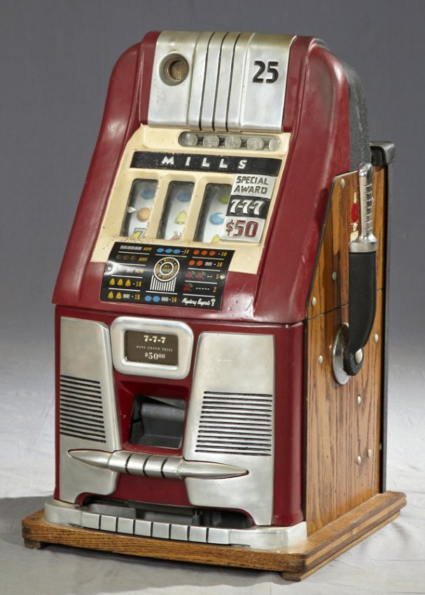 mills 777 high top slot machine dollar