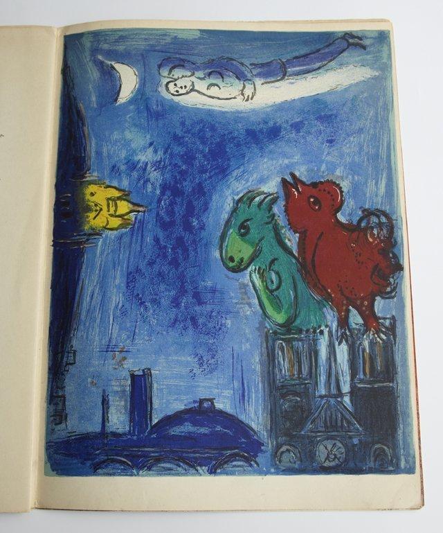 Marc chagall 1887 1985 derriere le miroir 1954 for Chagall derriere le miroir