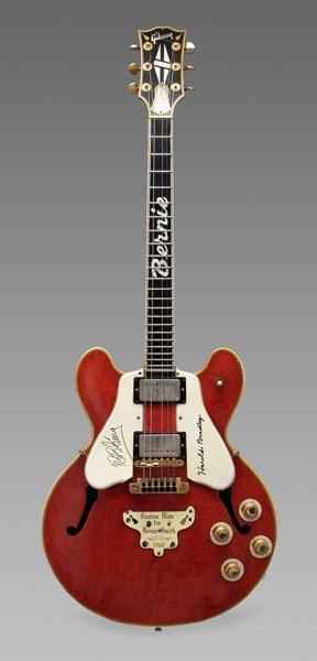 652 1960 gibson es 355 electric guitar lot 652. Black Bedroom Furniture Sets. Home Design Ideas