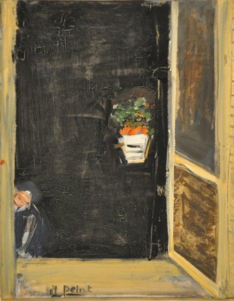 130 liliane klapisch original oil painting israeli art for Israeli artists oil paintings