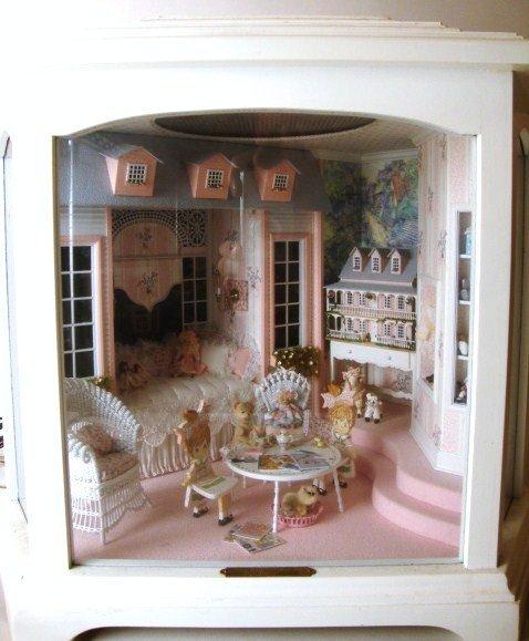 Miniature Room Box On Pinterest
