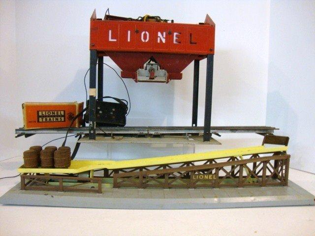 472 lionel 497 coaling station and 362 barrel loader. Black Bedroom Furniture Sets. Home Design Ideas