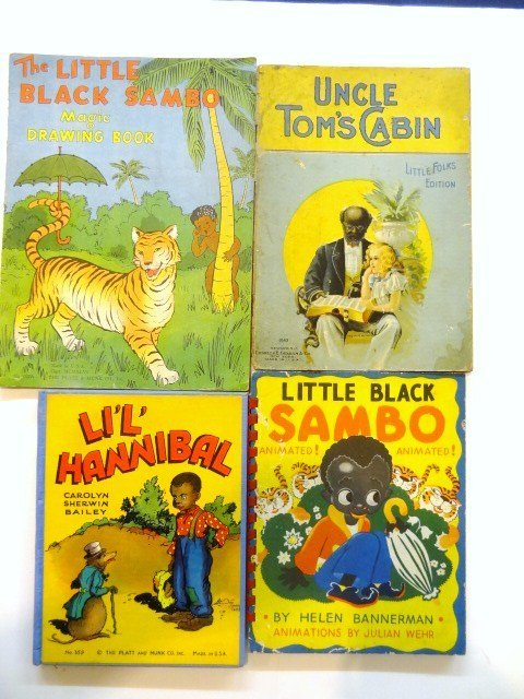 Vintage childrens book little black sambo lot 383