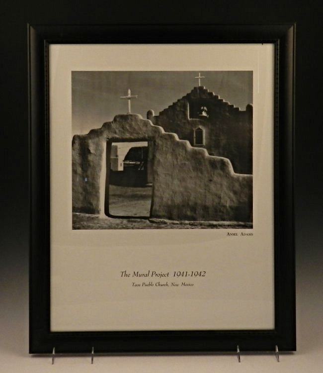 Ansel adams poster lot 3 for Ansel adams mural project 1941