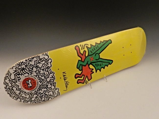 After Keith Haring Skateboard Deck Lot 87