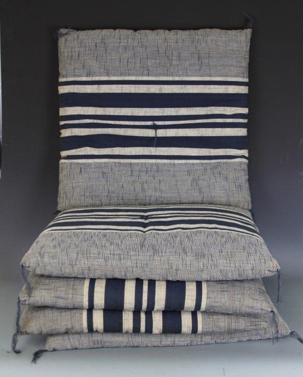 Zabuton Floor Pillows : 5 ZABUTON JAPANESE FLOOR CUSHIONS : Lot 4482
