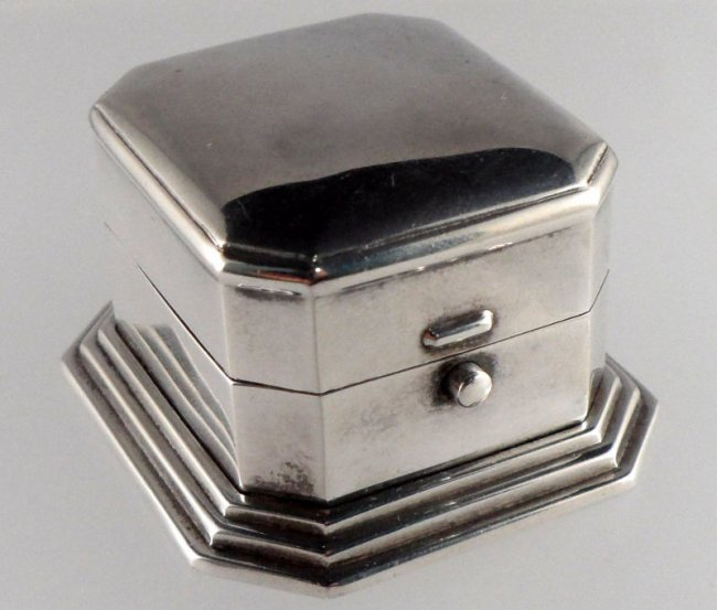 922a birks sterling silver ring box lot 922a