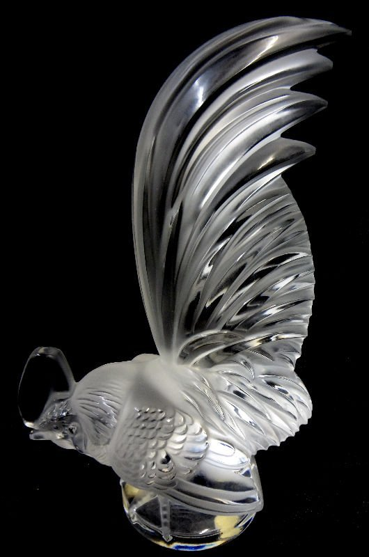 Lalique paperweight