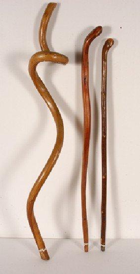 natural wood canes
