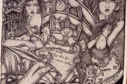 Related Pictures Chicano Prison Art Article Tattoos From Pic