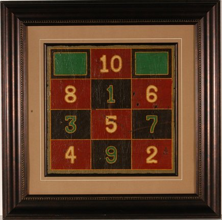 127 game board numbers in squares lot 127 for Meadowlark load board
