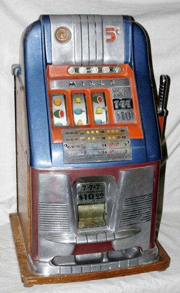 mills 1 cent slot machine