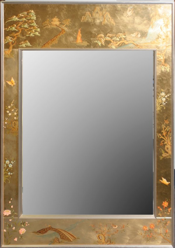 100036 asian style la barge mirror by rena westerhof for Asian style mirror