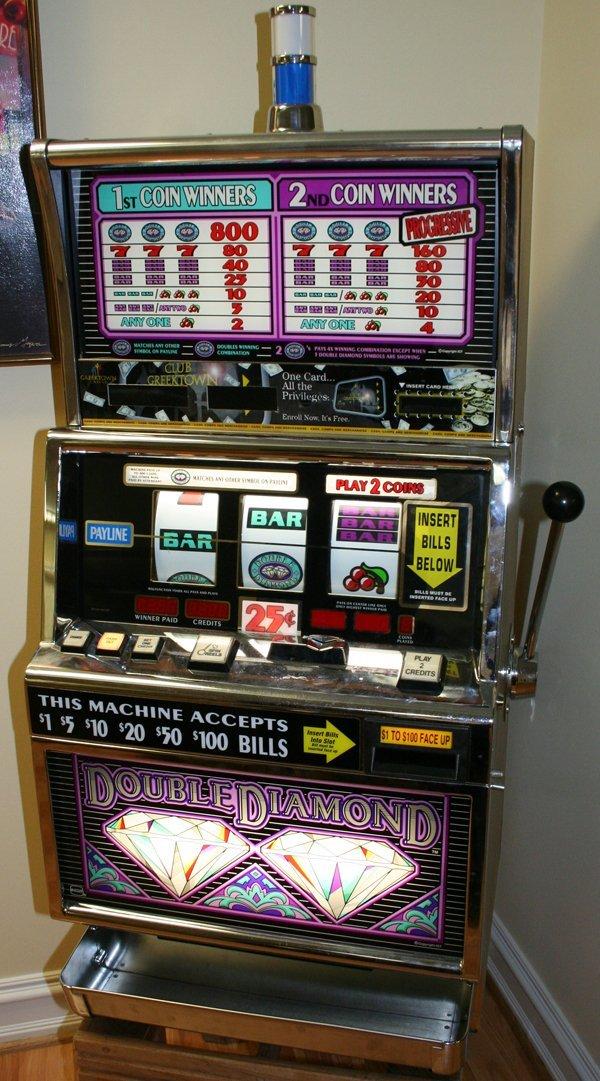 igt 1989 25 cent slot machine